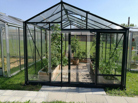Juna greenhouse antracite